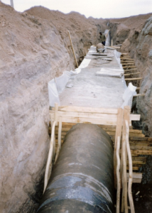 47- Construction of water supply pipeline from Zayandeh Roud to Yazd- 01