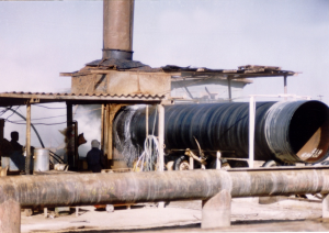 47- Construction of water supply pipeline from Zayandeh Roud to Yazd- 02